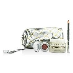 Skin Care Set: Neck Cream 50ml + Lip Potion 4.5g + Contour Fill 2.5g + Bag - 3pcs+1bag