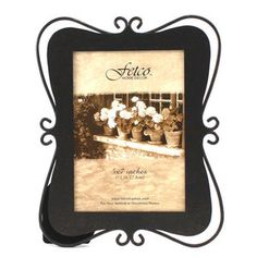 2 TIER TABLE $17.48 8X10 Fetco Home Decor Albee Tuscan Bronze Picture Frame 8x10