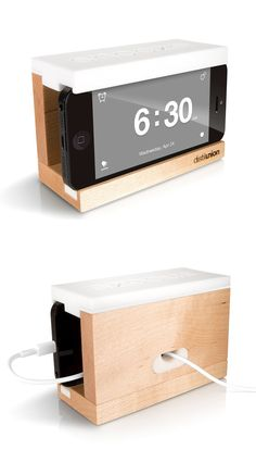Iphone Clock with Snooze Button | #techproduct #iphone #clock