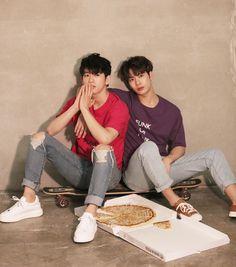 Jinyoung & Jackson for Oh Boy Magazine