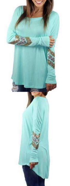 Plus Size T Shirt In Stock Now at Choies.com! this is a must have in fall!