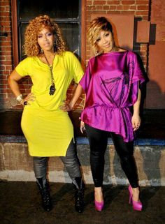 Gospel Singers Mary Mary Try Out Diva Fashion, Fashion Outfits, Erica Campbell, Black Girls Rock, African American Women, Before Us, Celebrity Look, Beautiful Black Women, Mary Mary