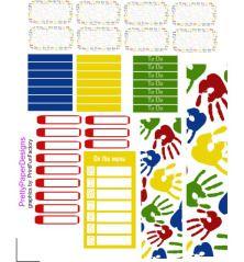 School Erin Condren Vertical Kit page 2