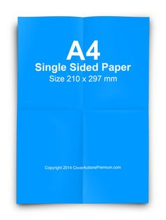 Folded A4 Paper Mockup Photoshop Cover Action Script Free Download.