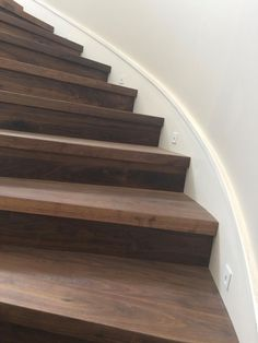 Merveilleux Wide Plank Hardwood | Hickory Stair Treads, Newel Posts And Handrails | WPH    Stairs | Pinterest | Newel Posts, Stair Treads And Wide Plank