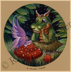 Fantasy Diamond Painting Kits that include Fairies and Dragons and all things fantasy. Dragon Cat, Tiny Dragon, Cartoon Dragon, Dragon Flies, Fantasy Creatures, Mythical Creatures, Disney Collage, Murals Your Way, Randal