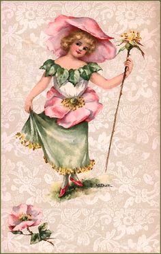 wild rose fairy