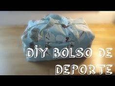 ✭ DIY Bolso de deporte - YouTube