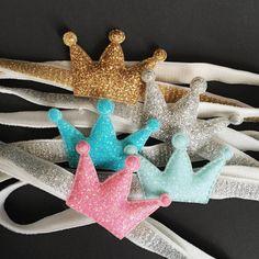 Crown Headband,Headband for baby,Birthday Headband,Baby girl Headband,Princess headband,Prince headband,glitter crown,birthday crown,crown