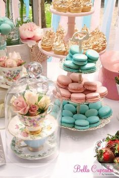 Paris Tea Party Desserts