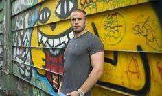 Rugby player Jamie Roberts. I could swoon, he's a total fox.