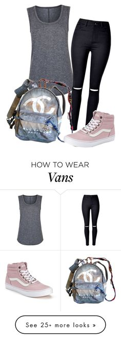 """""""#No name"""" by eemaj on Polyvore featuring Elie Tahari, Chanel and Vans"""