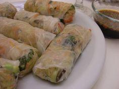 Moosewood Salad Rolls