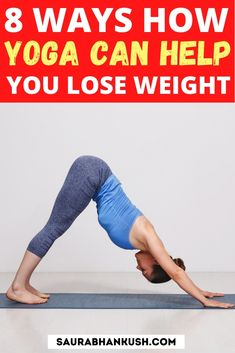 Here's 8 ways yoga can help in weight loss, these yoga for weight loss tips has helped me when I was new to yoga. Yoga poses makes me feel fresh. Yoga For Weight Loss, Weight Loss Tips, Lose Weight, Lose Thigh Fat Fast, Fish Pose, Beginner Yoga Workout, Yoga Poses For Beginners, Boost Your Metabolism, Yoga Benefits