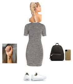 """Ok and"" by tatianaalcaraz on Polyvore featuring French Connection, Converse, MANGO and Case-Mate"