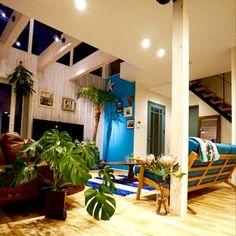 アクセントクロス/西海岸/カリフォルニアインテリアに憧れる/WTW/RonHarman…などのインテリア実例 - 2015-06-03 20:10:03   RoomClip(ルームクリップ) Surf Room, Surf Decor, Interior Decorating, Interior Design, American Houses, Space Architecture, Cottage Interiors, California Style, Cool Rooms