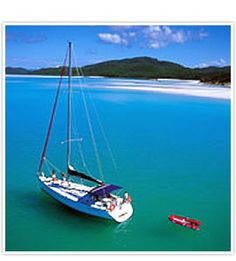 Boat & Yacht Charters : Whitsunday Holidays Australia - BAREBOAT YACHT CHARTERS  Take control and be the skipper of your very own private yacht whilst cruising the islands of the Whitsundays. Choose vessels sized between 32-50 feet in length – sailing yachts, sailing catamarans, and power Catamarans – and sail you and your group around over 70 magical islands just waiting to be discovered. www.whitsundayholidays.com.au