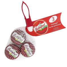 Set de 3 quesos Babybel de madera - Polly