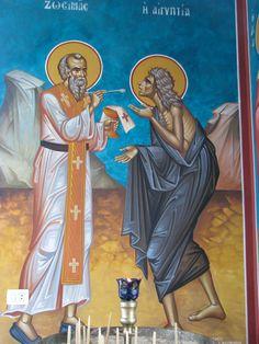 Religious Images, Religious Icons, St Mary Of Egypt, St Maria, St Lawrence, Byzantine Icons, Orthodox Christianity, Catholic Saints, Orthodox Icons