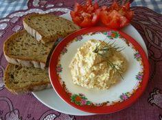Chutná vajíčková nátierka Mashed Potatoes, Grains, Brunch, Rice, Cheese, Cooking, Ethnic Recipes, Food, Ideas