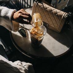 Watch it all fall out. ☕️ #butfirstcoffee®