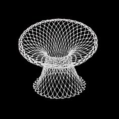Marcel Wanders, Fishnet Chair for Droog Design, 1995.