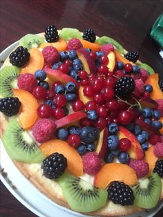 Crostata di frutta natural cakedesign