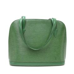 Buy Vintage Louis Vuitton Lussac Green Epi Leather Large Shoulder Bag £425.00, Second Hand & Vintage Louis Vuitton Vintage Collection Shoulder Bags for Sale, 100% Authenticity Guaranteed, Worldwide Shipping