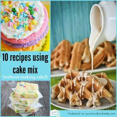 10 things you can do with cake mix
