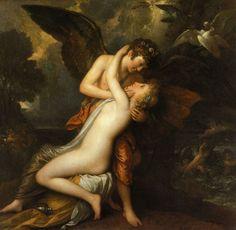 Cupidon et Psyché (De William Etty)