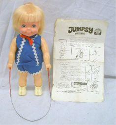 1970 dolls   198A: 1970 Remco Jumpsy Doll
