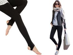 With Leggings with foot SEAMLESS P143