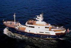 trawler yachts | NORTH SEA TRAWLER YACHT DISCOVERY 100' (30.5 m)