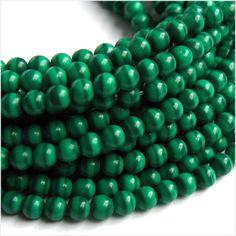 Color Esmeralda - Emerald Green!!! Beads