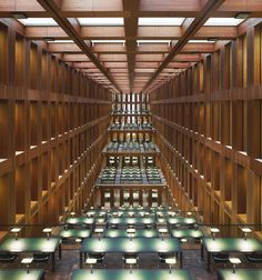 Max Dudler - Central library of the Humboldt-University of Berlin, 2009