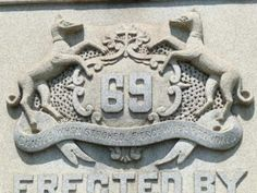 """Adjoining the Civil War memorial is another, commemorating the NYC 69th Infantry Regiment (""""Fighting 69th""""), part of the US National Guard. The regiment, founded in 1849, has had a rich history in the Civil War and World Wars I and II. It is an Irish heritage unit, with many of its traditions and symbols deriving from a time when the regiment was made entirely of Irish-Americans. The regiment's Civil War Era battle cry was """"Faugh a Ballagh,"""" which is Irish Gaelic meaning """"Clear the Way.""""…"""