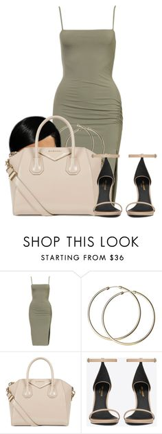 """""""Untitled #2585"""" by alisha-caprise ❤ liked on Polyvore featuring Givenchy and Yves Saint Laurent"""