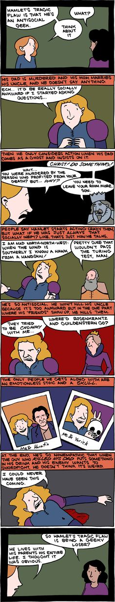 Since my capstone is about Hamlet, I find this particularly hilarious!