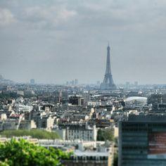 Vue plongeante depuis le parc de Saint Cloud #paris #parc #saint-Cloud #france by #Minitl