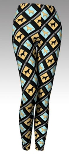 Labrador Retriever Leggings by KathysCraftShop on Etsy Newfoundland 0433598f3ccd