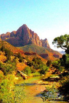 Mount Zion National Park...SUCH a gorgeous place!
