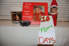 Elf On The Shelf --10 more days! (Click on picture to see more great Elf On The Shelf ideas!)