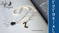 Tutorial: Segnalibro all'uncinetto con charms | Per principianti | How t...