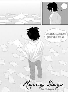 Rainy Days: Chapter 1 - Page 13 by colored-sky on DeviantArt Juvia And Gray, Fairy Tail Comics, Fairy Tail Ships, Sky View, Gruvia, Manga Artist, Bad News, Doujinshi, Rainy Days