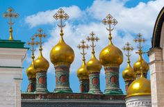 http://500px.com/photo/186191581 Cupolas of the Upper Saviour Cathedral Moscow Kremlin Moscow Russia by olafchristen1 - WEBSITE. Tags: public2012PersonlichBildarchiv-KategorienMoscowRussiaArchitekturBestMoskauRusslandapple tvCremlinTerem Palace