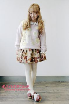 Vintage Teddy Bear Skirt from SYNDROME on Storenvy