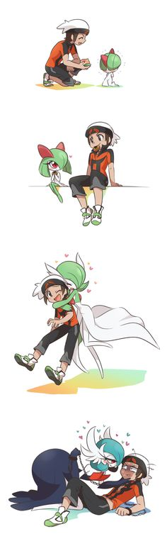 Gardevoir evolutionary line trought the time <3