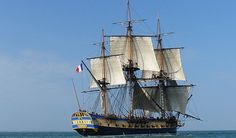 The replica ship called the Hermione and its crew made the trans-Atlantic trip from Rochefort, France; the same place where Lafayette left on his journey to America back in 1780. (Courtesy of York County, Virginia). 18th century French warship replica makes historic voyage to America - WTOP