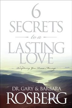 6 Secrets to a Lasting Love: Recapturing Your Dream Marriage, http://www.amazon.com/dp/B000SIZD56/ref=cm_sw_r_pi_awdm_S5mhtb0DQ297R