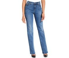 Levi's, 512 Perfectly Slimming Straight-Leg Jeans, Western Light Wash, $54, available at macys.comPhoto via Levi's
